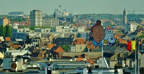 Quintessential Brussels from Pullman Midi, Belgium