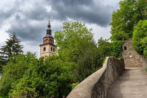 Le clocher à bulbe de Conflans (Savoie 05/2019)