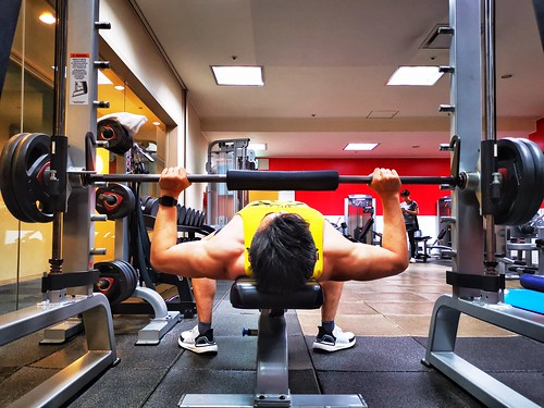 Workout at Hotel Gymnastic