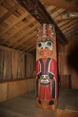 Native Indian Art, Alaska, USA.