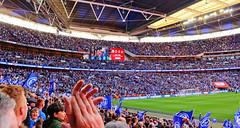 Portsmouth v Sunderland. EFL Trophy Final 2019