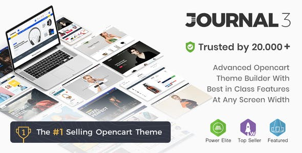 Journal v3.0.43 - Advanced Opencart Theme