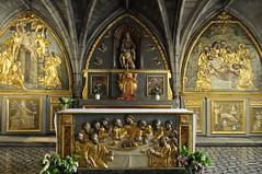 chapelle Notre-Dame de Pitié, ancienne salle capitulaire (XIIIe), église romane St Sauveur, Figeac, Quercy, Lot, Occitanie, France - Photo of Cambes