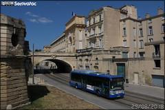 Irisbus Citélis 12 CNG - Tam Montpellier 3M (Transports Alternatifs de Montpellier Méditerranée Métropole) n°166
