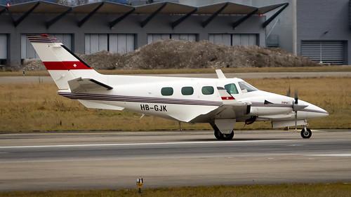 Beechcraft B60 Duke HB-GJK Private