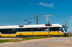DART Light Rail Train - Dallas, Texas