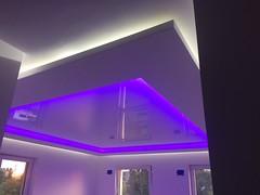Transparentne i podświetlane sufity30