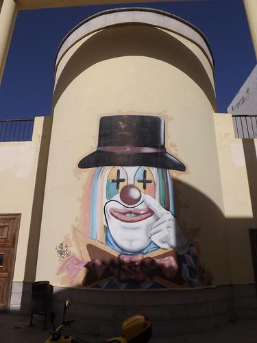 Graffiti, Carrizal del Sur, Spain