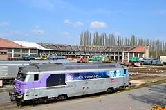 SNCF BB 67621 te Longueau