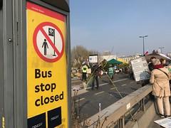 Bus Stop Closed