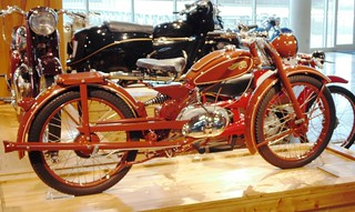 IMME, 100 CC,  1948 Germany, two Stroke Single.4.5 HP @ 5,800 RPM