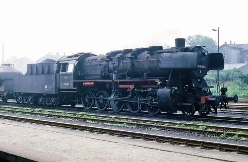 DR 50 2740-4 (ex 50 2740; Henschel 1942; ÜK) Bw Karl-Marx-Stadt