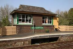 Okehampton signal box