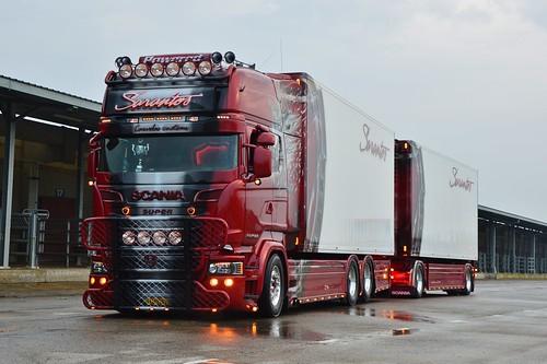 Gr-Sarantos Petropoulos Frigo Transport-Scania V8 R999 TL