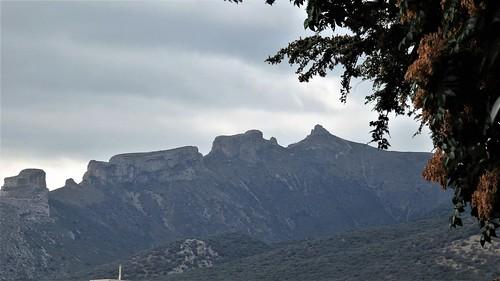Peñas de Herrera desde Añón del Moncayo.