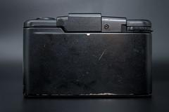 Rear view of an Olympus XA2