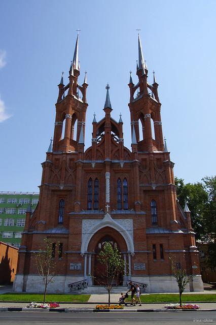 Temple of the Sacred Heart of Jesus, Samara,