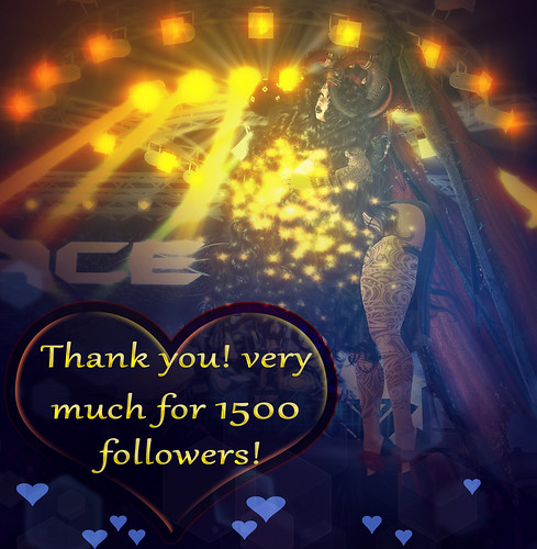 🌹 Thank you for 1500 followers! 🌹