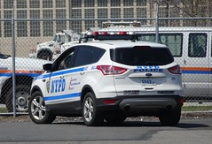 NYPD - Police Academy Driver Training - 2014 Ford Escape