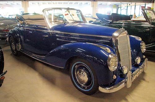 1955 Mercedes Benz 220 Cabriolet