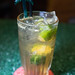 Calamansi and sour plum soda