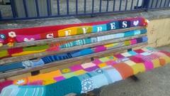 yarn bombing Sèvres-2