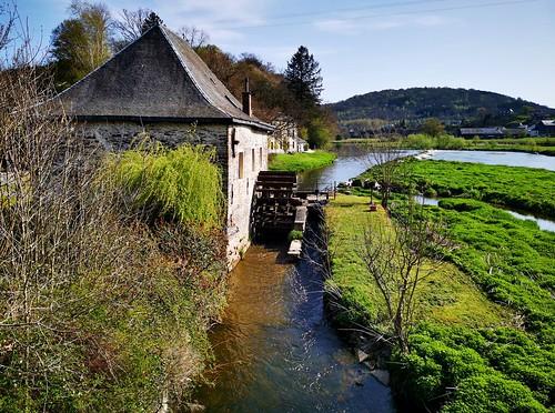 La Semois - Mortehan  Moulin à eau