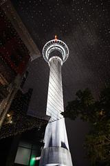 tower at nite