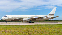 Boeing 767-33A(ER) P4-MES Global Jet Luxembourg - Photo of Dalhunden