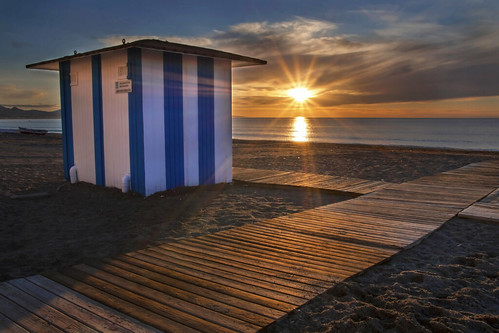 Sunrise at Sabinillas