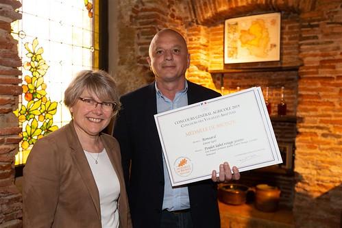Remise des prix du Concours Général Agricole au Domaine d'Ognoas