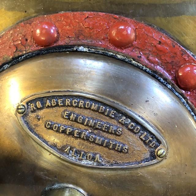 Coppersmith's plate - Royal Lochnagar Still