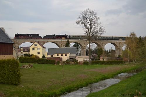 23 1097 und 50 3610 Viadukt Schmölln-Putzkau