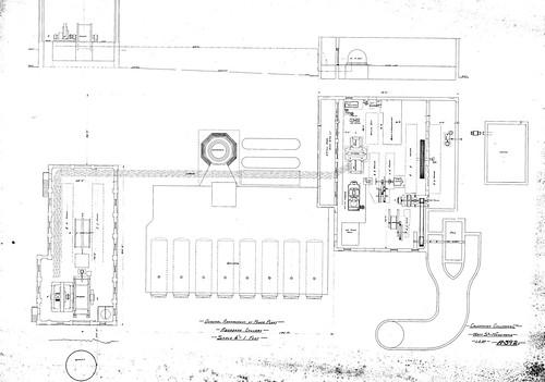 A392 Aberdare Colliery arrangement of power plant