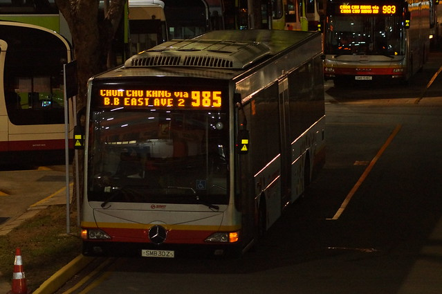 SMB30Z on SMRT Bus Service 985