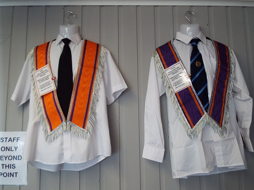 Ulster Loyalist Banners, Badges, Loyal Order Sashes and other regalia