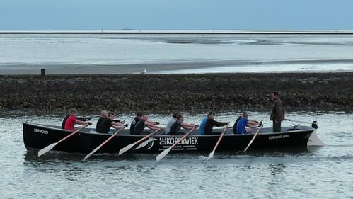 De Koperwiek rowers, Kerwood boat Terschelling