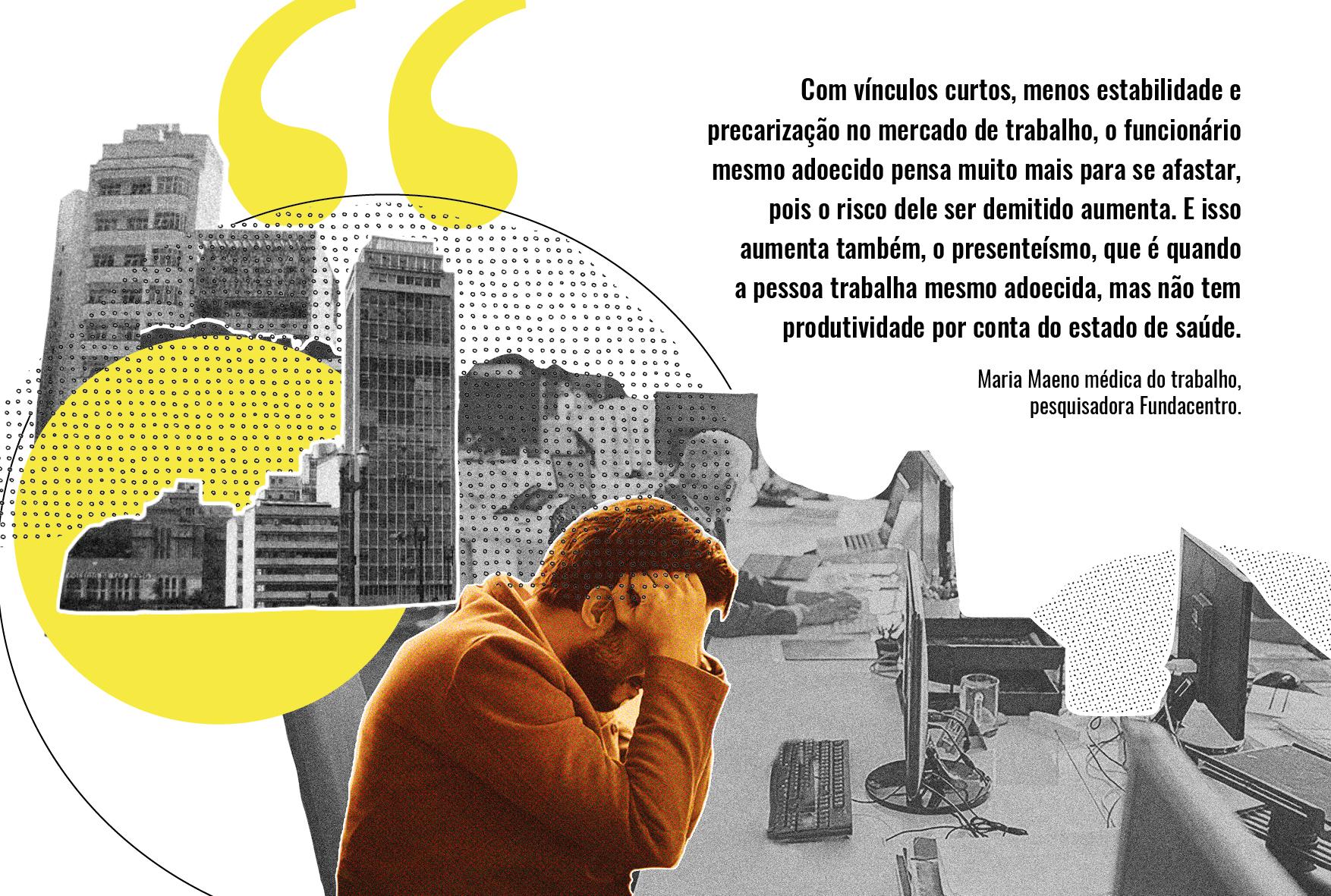 Precarização faz trabalhadores adoecidos não se afastarem com medo de demissão