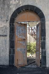 L'église ruinée de Basse-Pointe