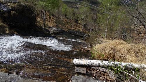 Zwischen  Giumaglio und dem Bergweiler Cropp