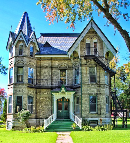 Lindsay  Ontario  - Canada - Sylvester  House - Heritage