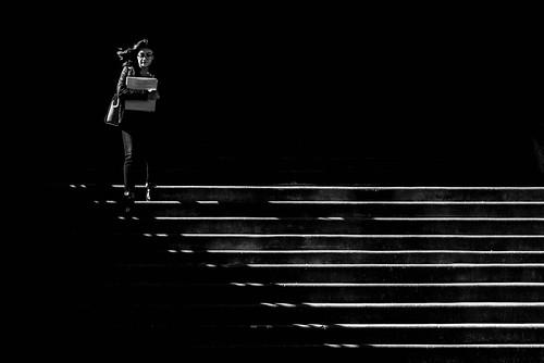 Stairs, UW Tacoma
