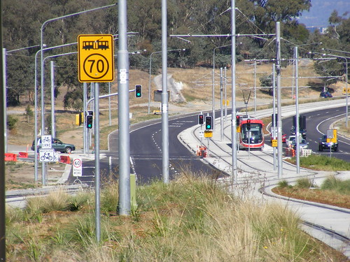 Canberra Metro Opening Day.