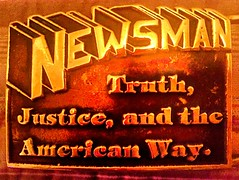 NEWS MAN belt buckal