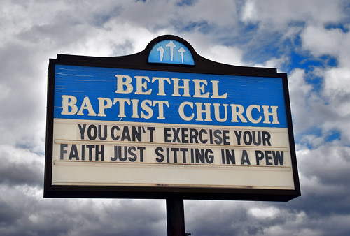 Bethel Baptist Church Sign -- 3200 28th Avenue North Collegeville Birmingham (AL) February 2019