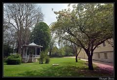 Châtillon-sur-Seine - Jardin de la mairie et du Souvenir français - Photo of Bouix
