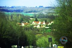 Pont-aux-Dames vu depuis l'A4 en mars 2019.