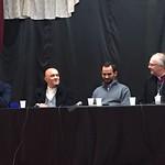 Rev'd Dr Gavin ASHENDEN, Mohamed KHENISSI, Fr Jean-Louis HAUBERT, Camel BECHIKH.