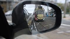 Electric tram.