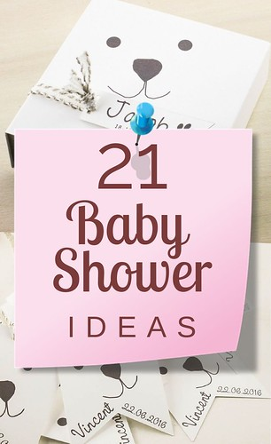 21 baby shower ideas, for boys and girls! Baby shower favor boxes, bags and tags…